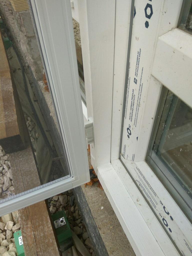 Усиленные петли для москитной двери