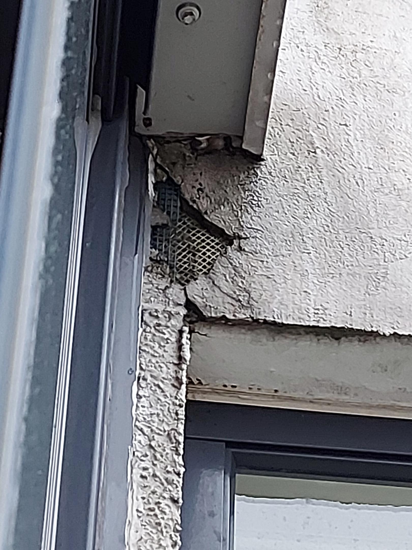 Устранение протечки по фасаду